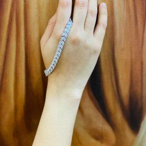 Handmade Bridal Crystal Bracelet