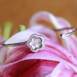 Bridal Sterling Silver Bracelet