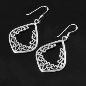 Aesthetic Silver Earrings
