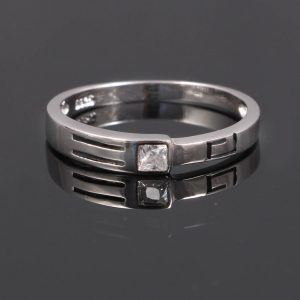 Sterling Silver Thin Stackable Band