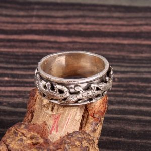 Spinner Ring in Sterling Silver