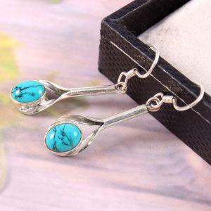 Turquoise Lightweight Everyday Wear Earrings